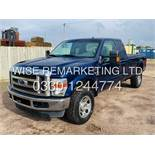 (Reserve Met) FORD F-350 6.8L V10 XLT KING-CAB**2009**4X4**AIR CON**ULTRA RARE**FRESH IMPORT