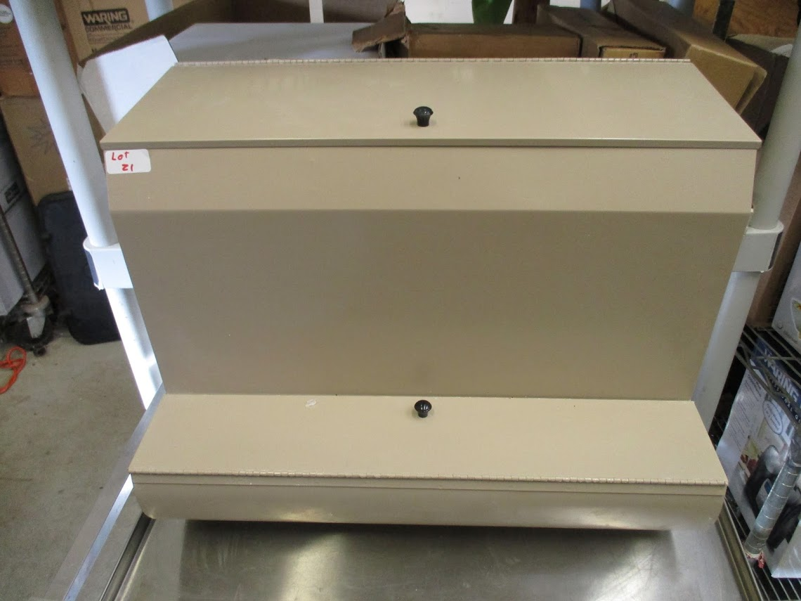 Lot 21 - Dental materials bin.