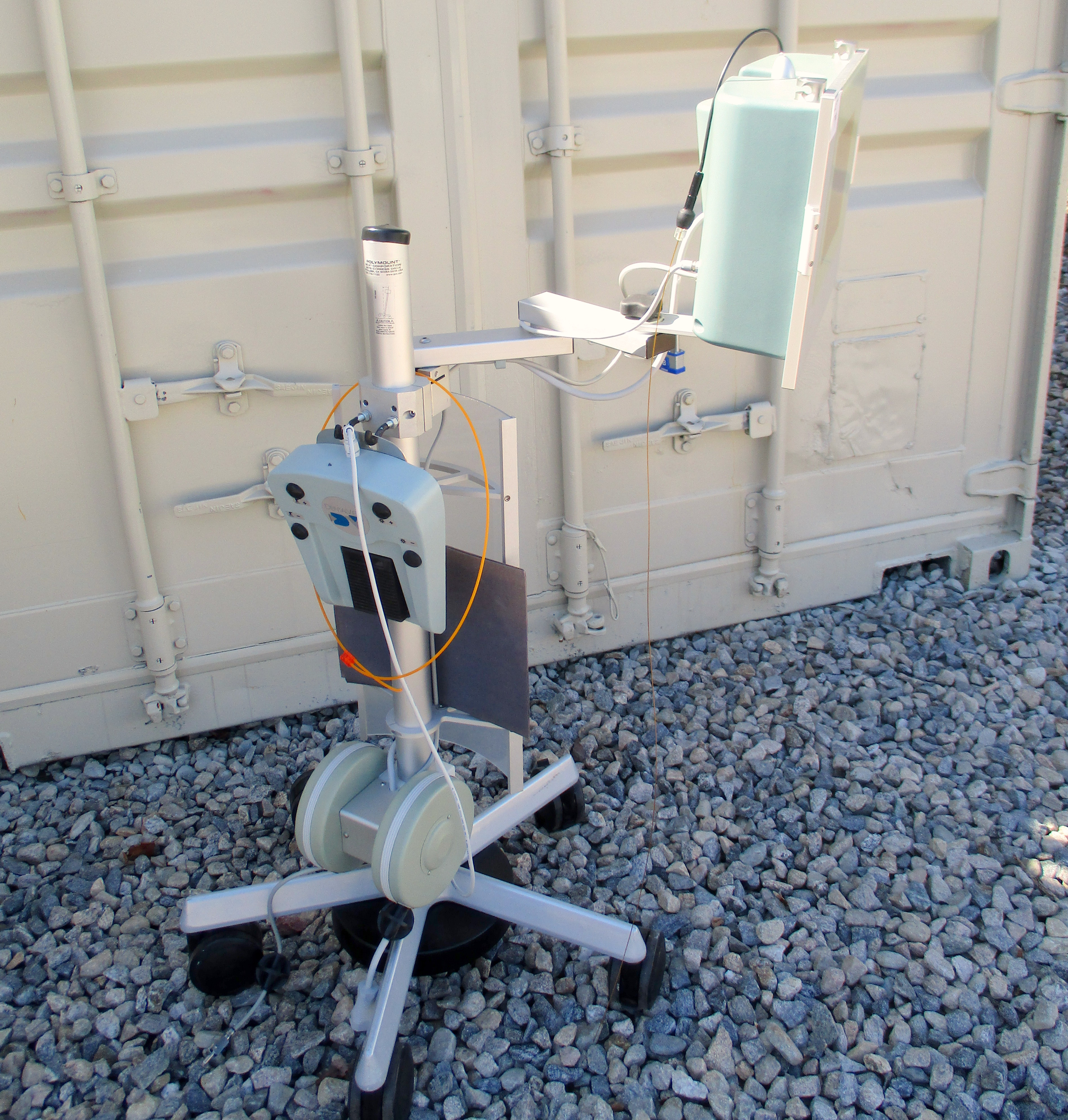 Dental View DV-2 Periscopy Endoscope System on wheeled stand - Image 6 of 14