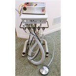 Adec Dental Delivery System with electrical box and handpiece