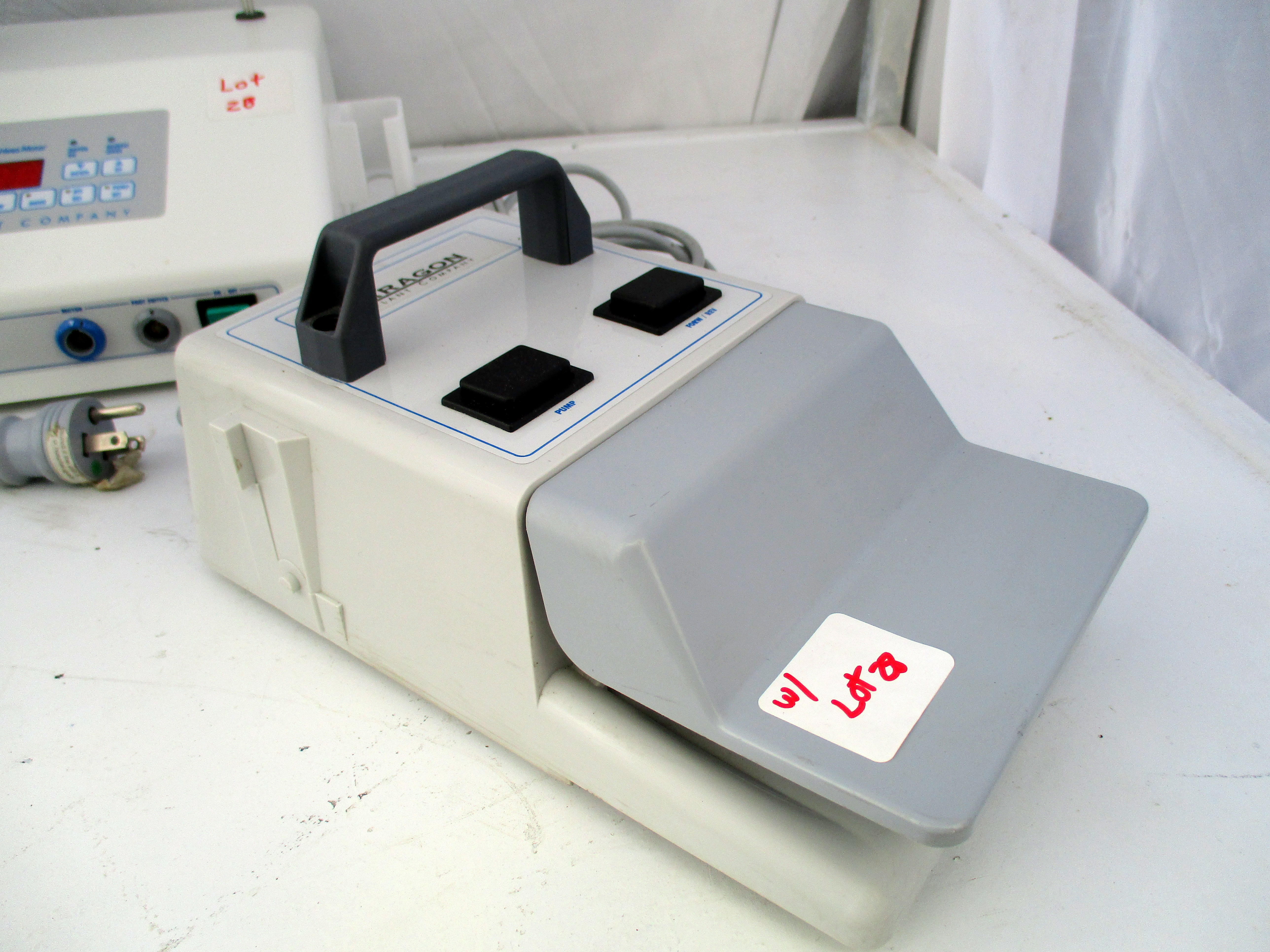 Lot 28 - Paragon Implant Company CBM Dental Endo Control Console & Motor System