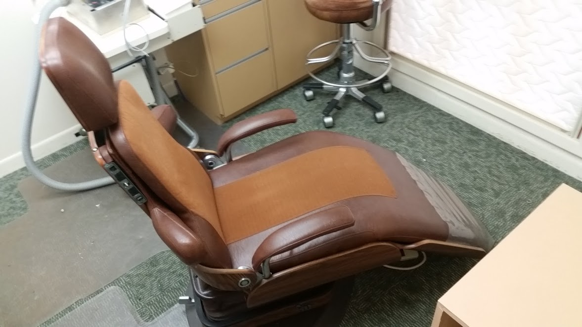 Lot 38 - Adjustable Dental Chair