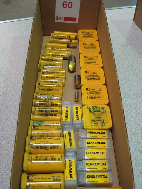 Lot 60 - Box of Kennametal Pilot Drills and Tip Sets