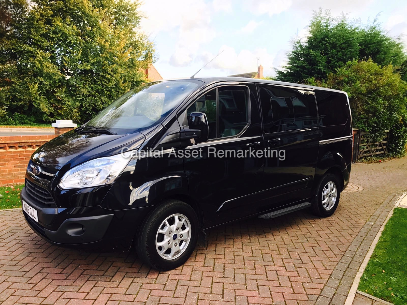ford tourneo custom titanium d o r 19th march 2015 15 reg mileage only 21481 genuine. Black Bedroom Furniture Sets. Home Design Ideas