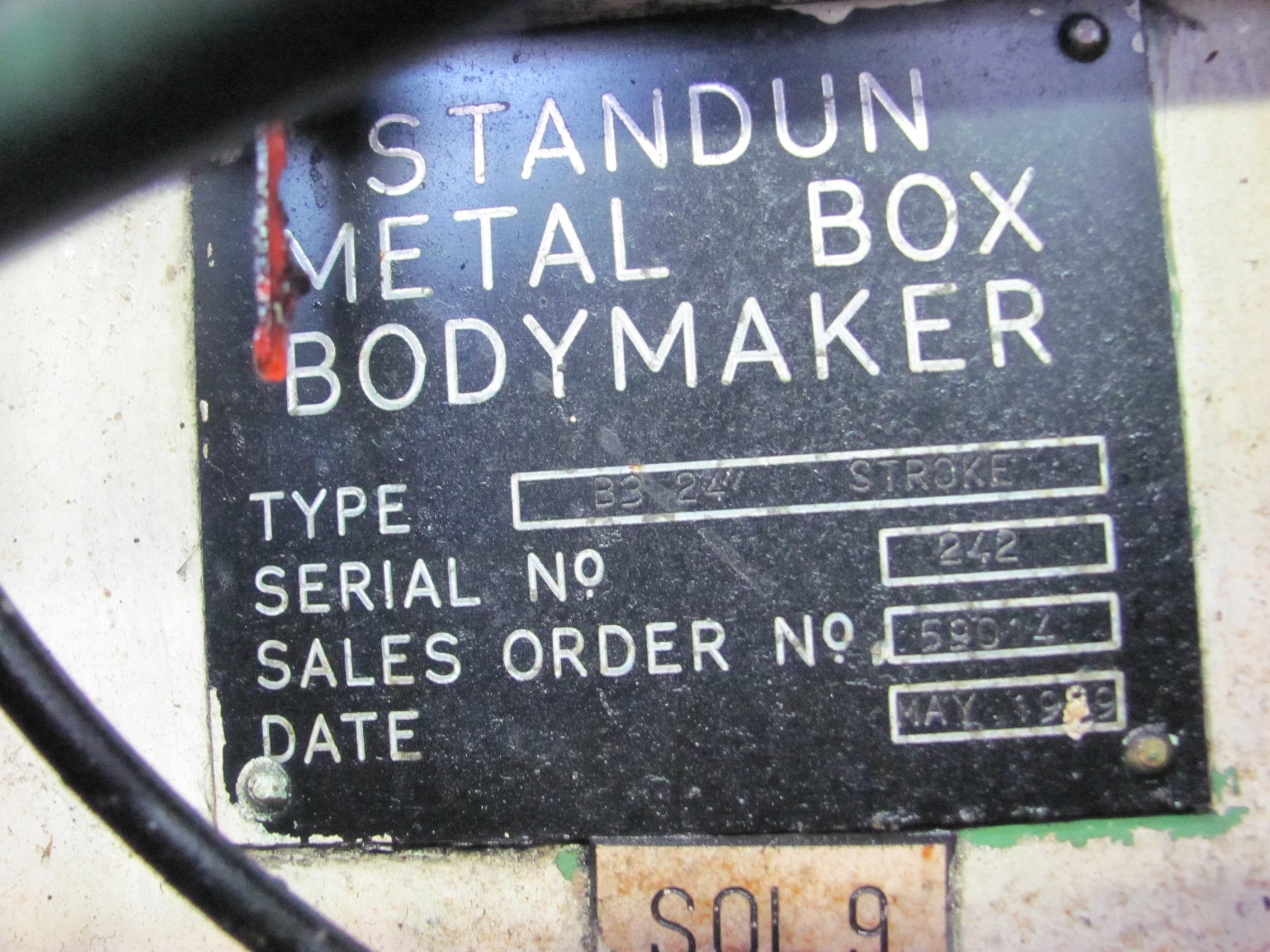 Lot 116 - Body Maker