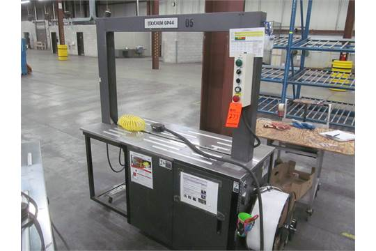 Polychem GP44 automatic box strapper with 47""