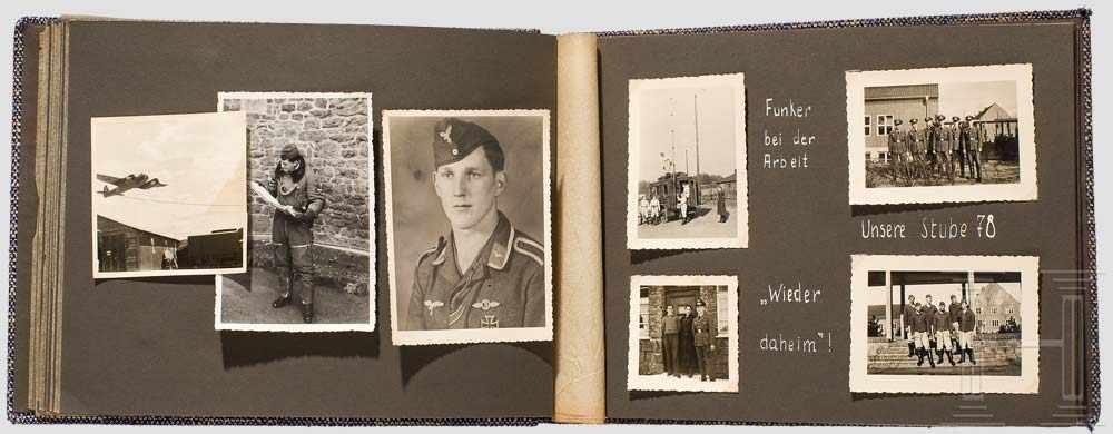 Lot 8980 - Feldwebel Wolfgang Hoffmann von der 3. (Fern)Staffel, Aufklärungsgruppe 121 - Auszeichnungen,