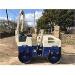 2004 BOMAG BW80 AD-2 RIDE ON VIBRATING ROLLER, SHOWING 950 HOURS, RUNS, DRIVES, VIBRATES *PLUS VAT*