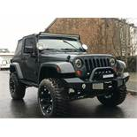 2007 swb Jeep Wrangler VERY LOW MILES AT JUST 47000 Interior is half leather and in good condition