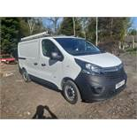 2014/64 REG VAUXHALL VIVARO 2900 CDTI ECOFLEX 1.6 DIESEL PANEL VAN, SHOWING 0 FORMER KEEPERS