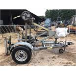 CLYDESDALE SINGLE AXLE PIPE TRAILER *PLUS VAT*