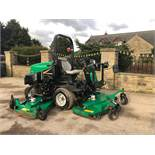 RANSOMES HR6010 BATWING RIDE ON LAWN MOWER, YEAR 2013/62 PLATE, 4 WHEEL DRIVE *PLUS VAT*
