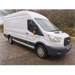 2016/16 REG FORD TRANSIT 350 L4 JUMBO TREND 2.2 DIESEL WHITE PANEL VAN, SHOWING ONE OWNER *NO VAT*