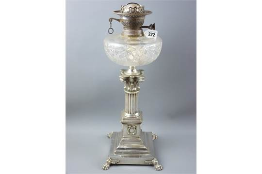 Oil lamp dating