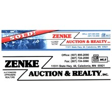 Zenke Auction & Realty, Inc. logo