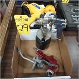 Air Paint Sprayer and Wagner 6.6 GPH, 120V, Paint Sprayer