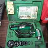 Greenlee 767 Punch Set