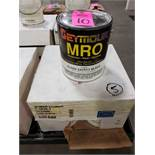Qty 5 - Seymour MRO paint Gloss Safety Black model 1-1415. New as pictured.