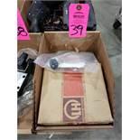 Leybold-Heraeus model 28610 valve flange. New in box.
