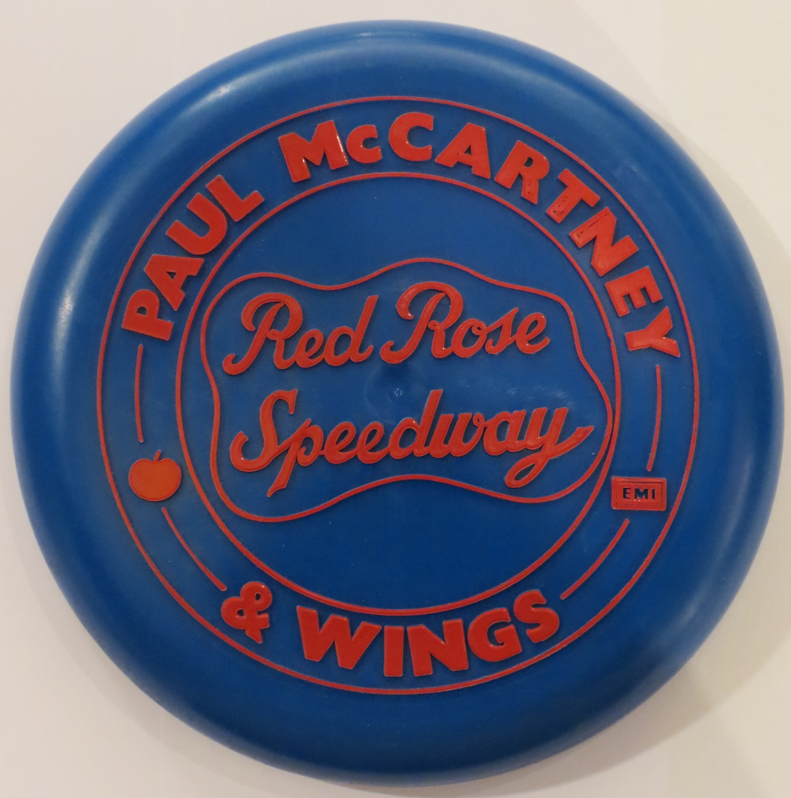 Paul McCartney Red Rose Speedway Frisbee C1973 1