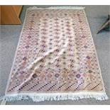 BEIGE GROUND MIDDLE EASTERN RUG