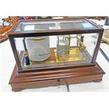 SHORT AND MASON LONDON CASED BAROGRAPH Condition Report: Sold as seen with no