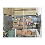 4-Door Shelving Unit with Bolts, Nails, Motor Mounts, Screws,