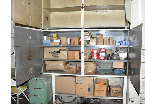 4-Door Shelving Unit with Bolts, Nails, Motor Mounts, Screws,
