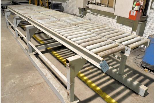 """42"""" X 216"""" Roller Conveyor"""