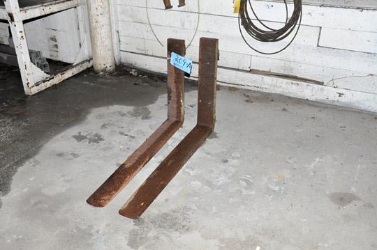 """Pair 36"""" Fork Lift Forks"""
