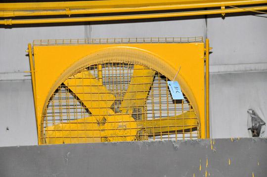 """42"""" Industrial Grade Steel Frame Mounted Drum Fan"""