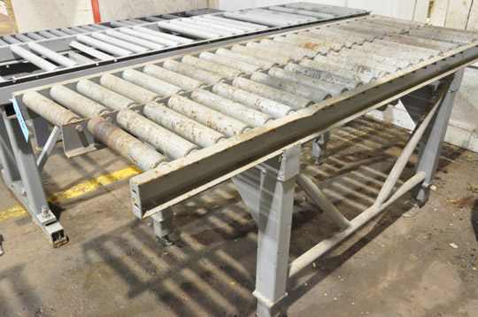 "30"" X 96"" Double Roller Conveyor"