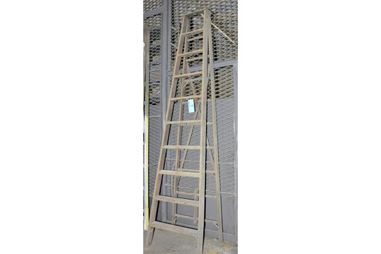 10' Wooden Step Ladder