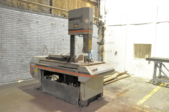 """MARVEL / ARMSTRONG-BLUM SERIES 8 MARK II 18"""" X 22"""" Vertical Tilting Metal Cutting Band Saw - Image 2 of 5"""