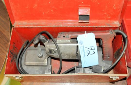"MILWAUKEE MODEL 6225 6-Amp 4-1/2"" Porta Band Saw,"