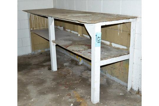 """30"""" X 100"""" Steel Work Bench"""
