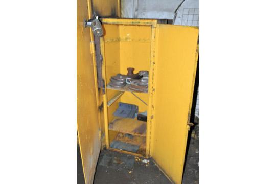 2-Door Heavy Duty Industrial Cabinet with Attached Single Door - Image 2 of 2