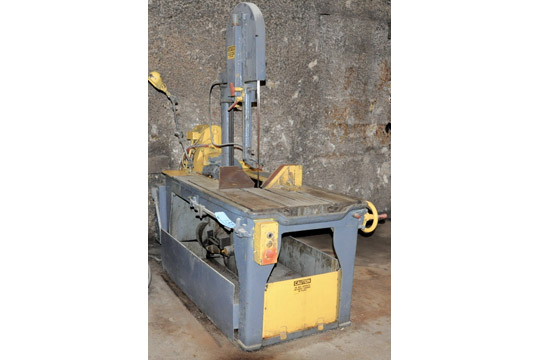 """MARVEL/ARMSTRONG-BLUM SERIES 8 MODEL 8/M4 18"""" X 20"""" Vertical Tilting Metal Cutting Band Saw - Image 2 of 2"""