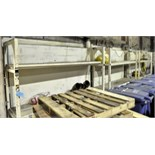"""Lot-(3) Sections of 26""""L X 108""""W X 82""""H Heavy Duty Racks with"""
