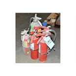 Lot-(5) Fire Extinguishers