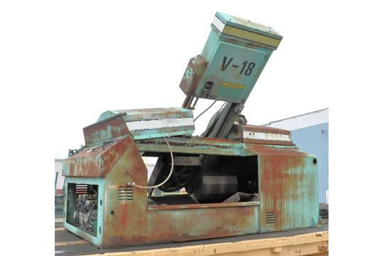 HYD-MECH Model V-18 Vertical Tilt Frame Metal Cutting Band - Image 2 of 3