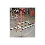 Lot-(3) 2-Wheel Hand Carts and (1) Drum Dolly