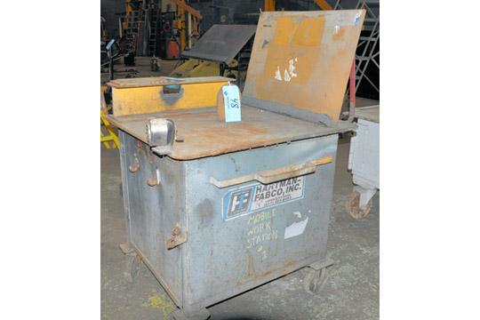 Lot 48 - Portable Heavy Duty Steel Work Cabinet