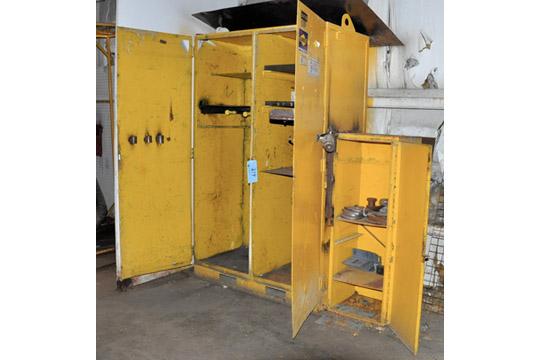 2-Door Heavy Duty Industrial Cabinet with Attached Single Door
