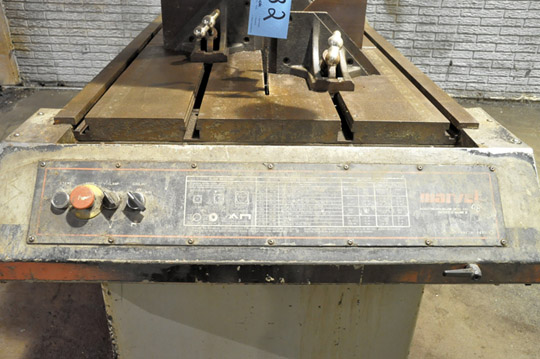 """MARVEL / ARMSTRONG-BLUM SERIES 8 MARK II 18"""" X 22"""" Vertical Tilting Metal Cutting Band Saw - Image 4 of 5"""