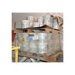 Copps Ind model K-001-22 PM Regular REDBAC Standard Crusher Backing Multiple Pails on (2) Pallets