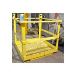 Man Lift Platform Fork Lift Attachment