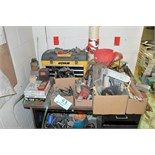 Lot-Assorted Hand Tools on (1) Desk Top Consisting of: Tool Box,