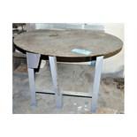 """42"""" Diameter X 30""""H Steel Work Table"""