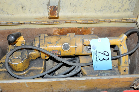 """MILLERS FALLS MODEL 9954 8-Amp 4"""" Porta Band Saw, with"""
